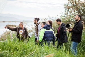 """Sponsorship at the bird exhibition """"Aigio salt pans – Redefining a valuable ecosystem"""""""